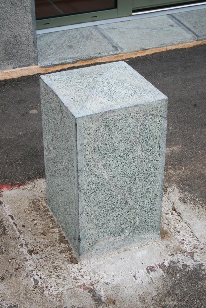 Aménagement urbain en pierre de taille